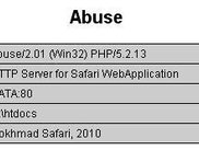 Abuse Running with PHP