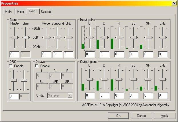 AC3Filter b / b Lite ADFREE Free Download - VideoHelp