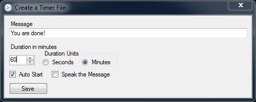Full ADDTimer screenshot