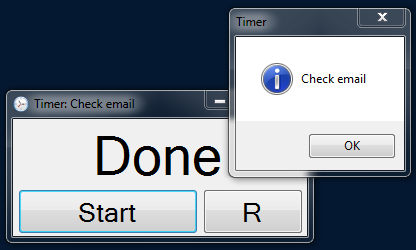 ADDTimer screenshot