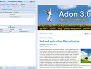 Newsletter admin interface