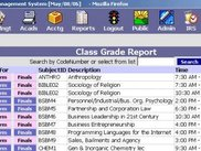 Class Grade Management and Report