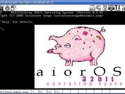 aiorOS shell screenshot