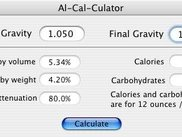 Al-Cal-Culator v0.4 in action