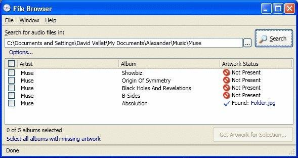 Album Art Downloader full screenshot