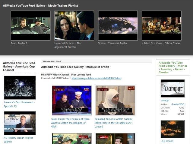 how to add youtube video on website joomla