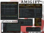 Very first beta of AMIGIFT (version 0.1, from 2003)