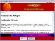 Antigen's Introduction Screen - html and browsable
