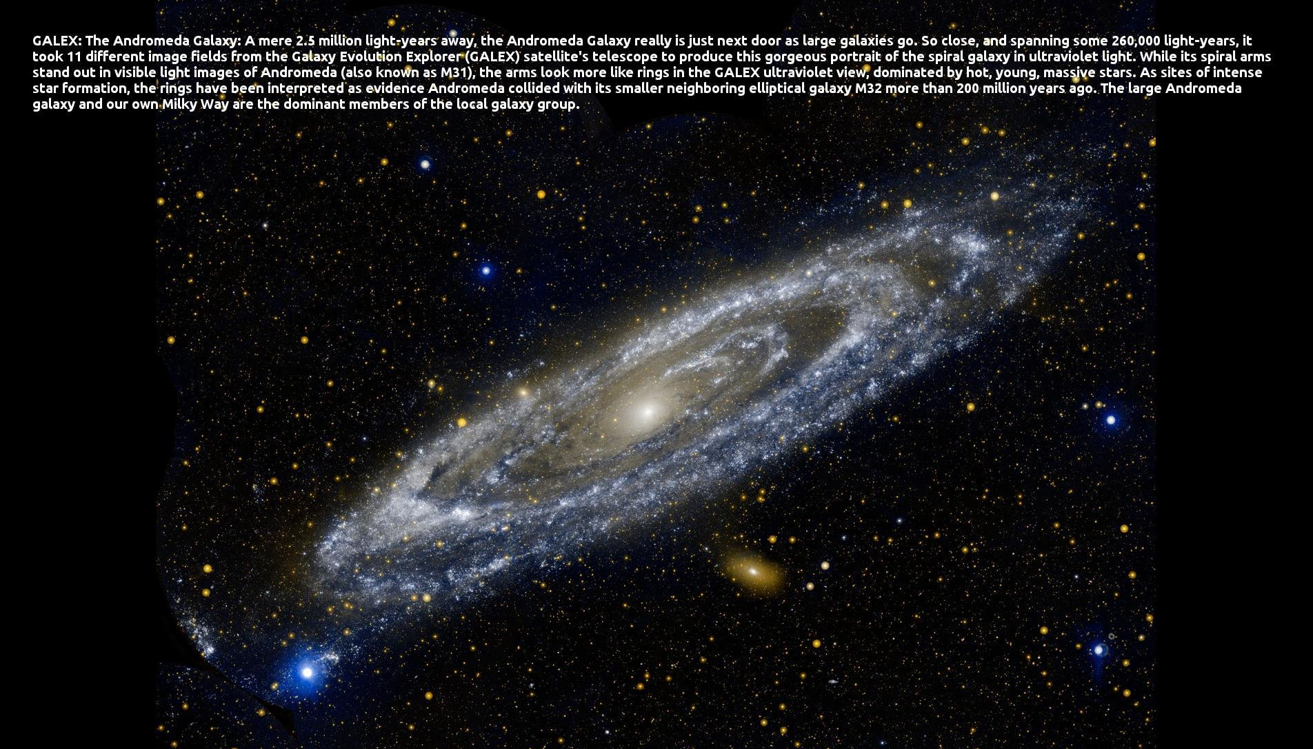 Desktop Background from Nasa APOD | SourceForge.net