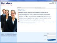 MetroBank sample application