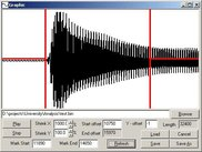Show audio source with different zooming.