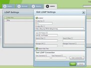 Artifactory LDAP Settings