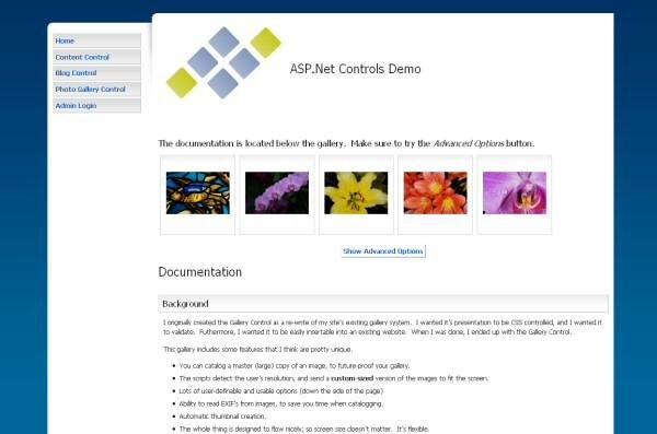 asp net content photo gallery sourceforge net
