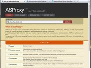 ASProxy Main Page