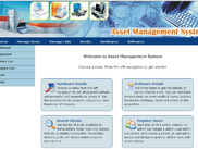 Asset management - Dashboard