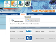 Asset management - Manage Stock