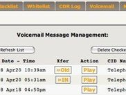 AstLinux web interface Voicemail Tab