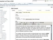ATutor content editor, in the plone theme