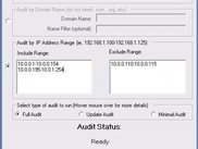 Auditing by IP Address Range