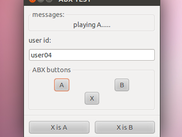 aveX user interface