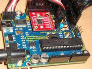 Freetronics 2010 @ 22.1184MHz