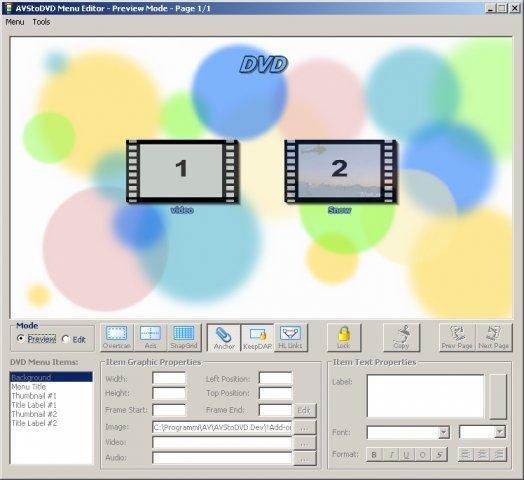 05 DVD Menu Editor