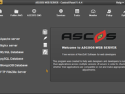 ASCOOS Web Server 1.4.4 -- Welcome