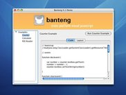 Banteng 0.1 demo running on Mac OS X