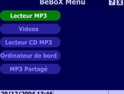 BeBox MP Main Menu