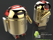 Be The Robot  - Smartphone Controlled Robot (BERO BLING Gold Edition)