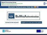 1.- Biometric enrollment web portal Front-End