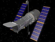 Hubble Space Telescope rendering