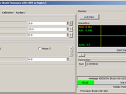 PID Settings of  blg-tool GUI
