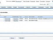 the package instalation in SugarCRM