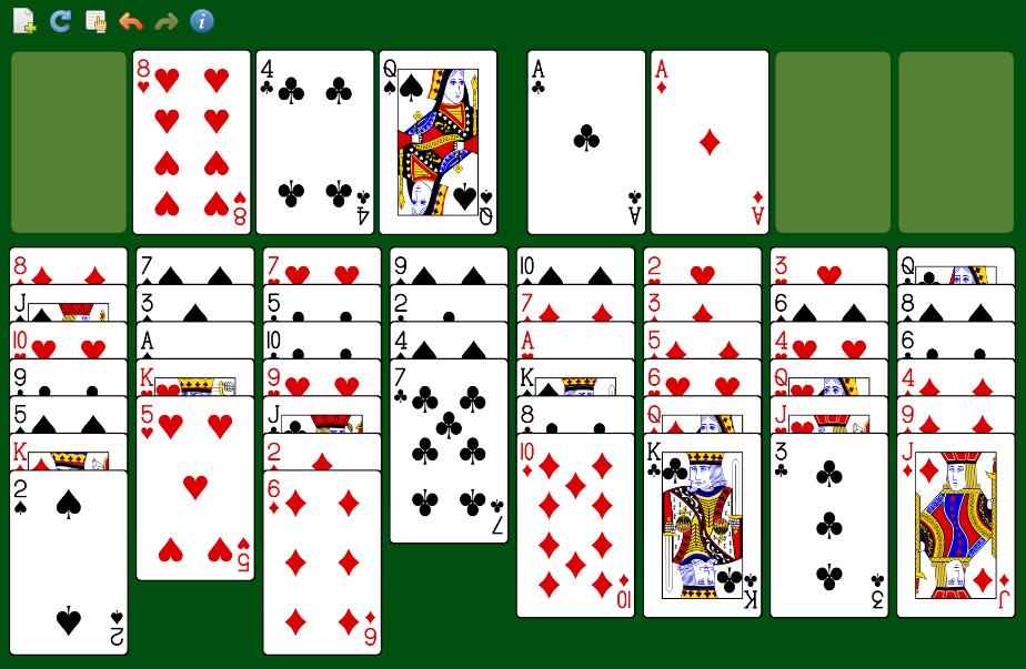 Freecell on Canvas download | SourceForge.net