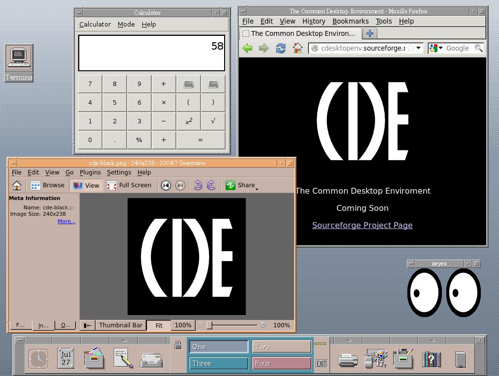 Openbsd Desktop Environment Common Desktop Environment