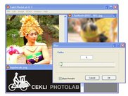 Cekli PhotoLab 0.3 User Interface