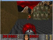 Chocolate Doom running in GNU/Linux.