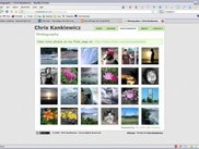 CK-Gallery integrated into a webpage.
