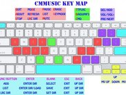 CMMusic ver 1.5 KEY MAP