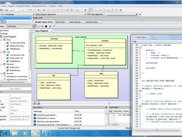CodeDesigner in Windows 7 (class diagram)