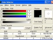 Color Selector 3 - Main Screen