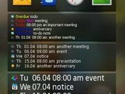 The number of events to display can be changed