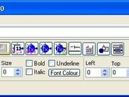 CoS editor toolbar window (13 Aug 2007)