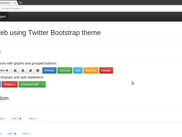 CppWeb using Twitter Bootstrap theme