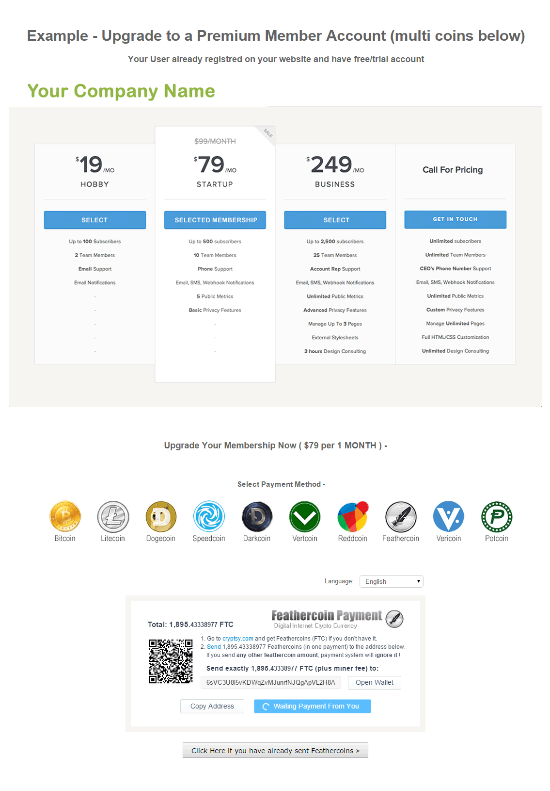 GoUrl Bitcoin Payment Gateway & Paid Downloads ...
