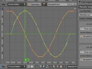 Importing sine waves from a CSV file to f-curves.