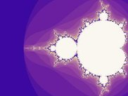 Sample code screenshot: mandelbrot