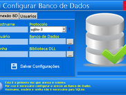 Nova tela de Config do BD