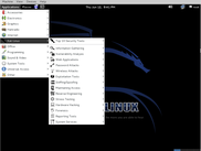 Kali Linux with Gnome Desktop Environment